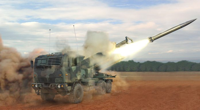 HIMARS firing LRPF