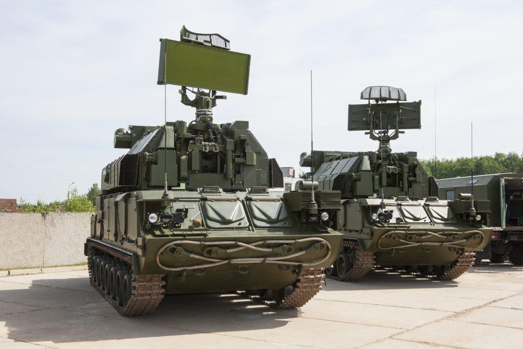 Tor-M2E SAM system