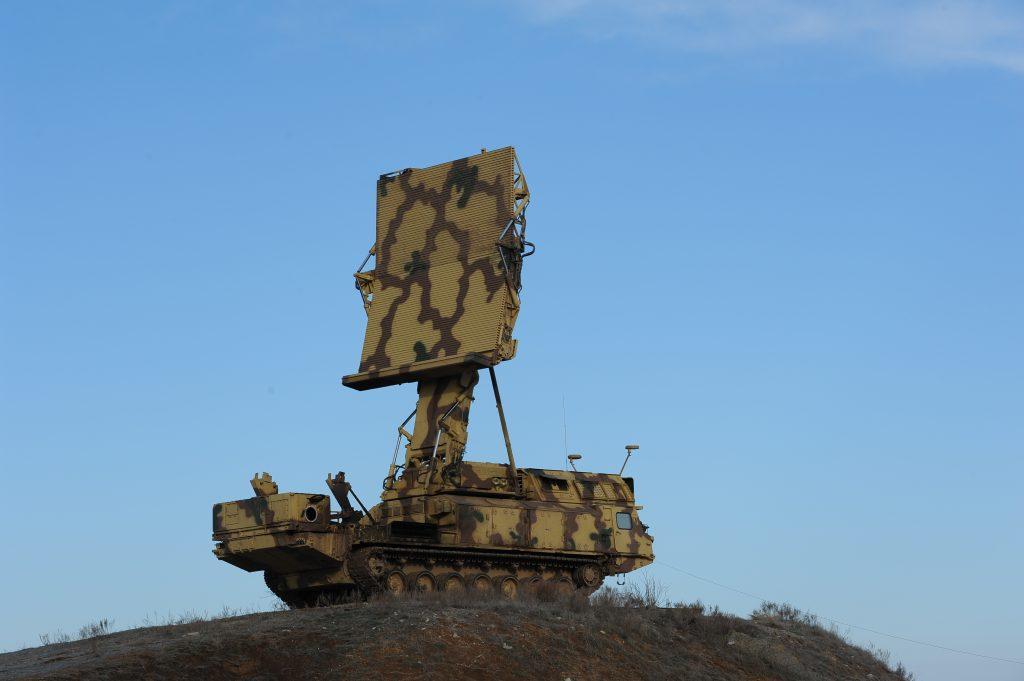 the Antey-2500 SAM system