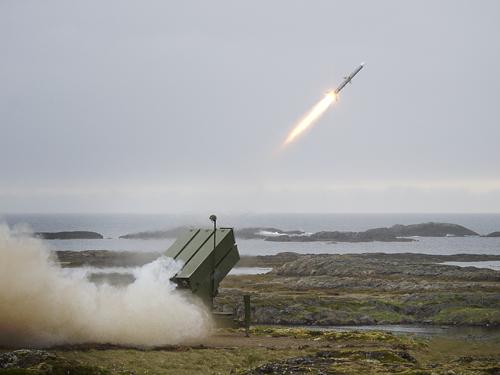 NASAMS-2 - firing Gd Mount Kongsberg