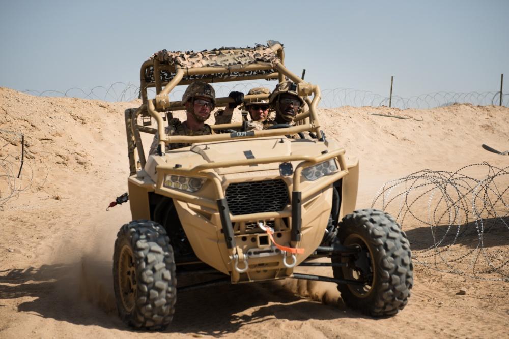 USMC on MRZR-D4