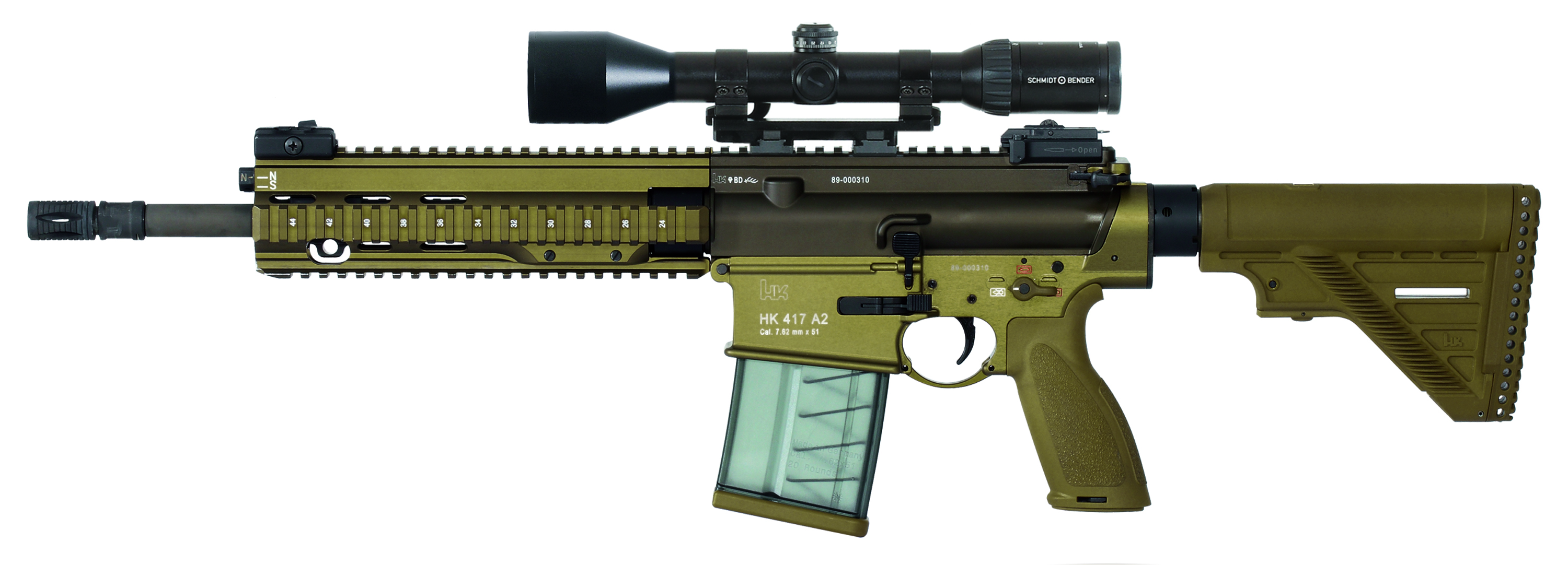 Heckler and Koch's HK-416F
