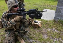 M-320 grenade launcher