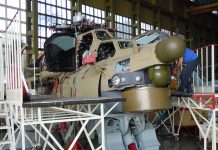 Mil Mi-28N attack helicopter
