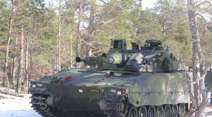 CV-90 IFVs