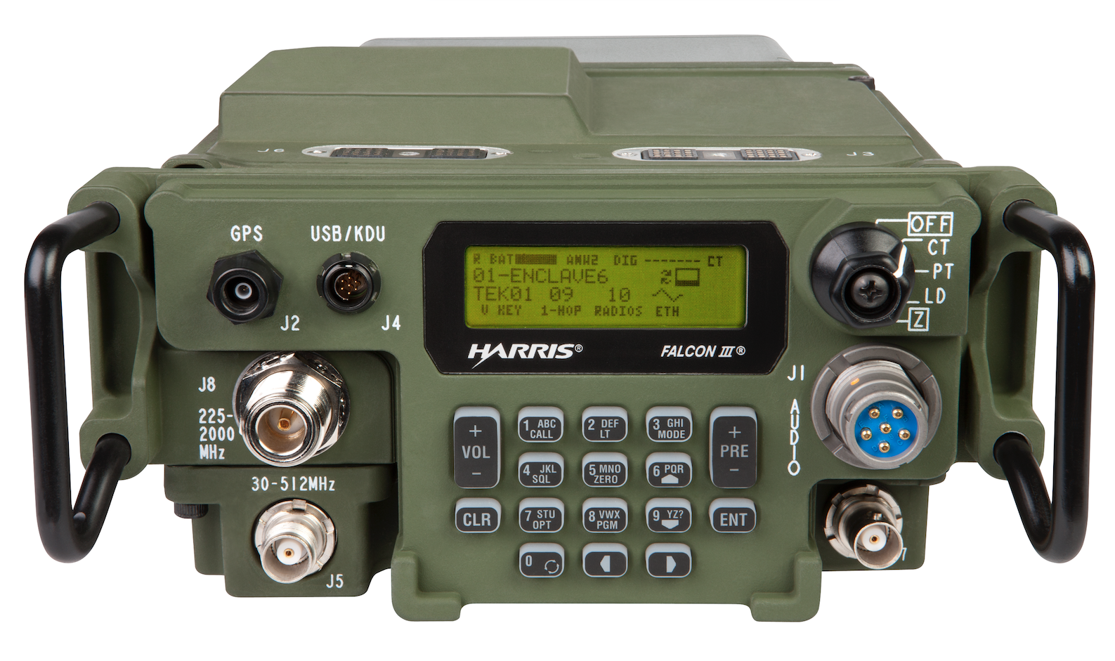 Harris' AN/PRC-117G radio