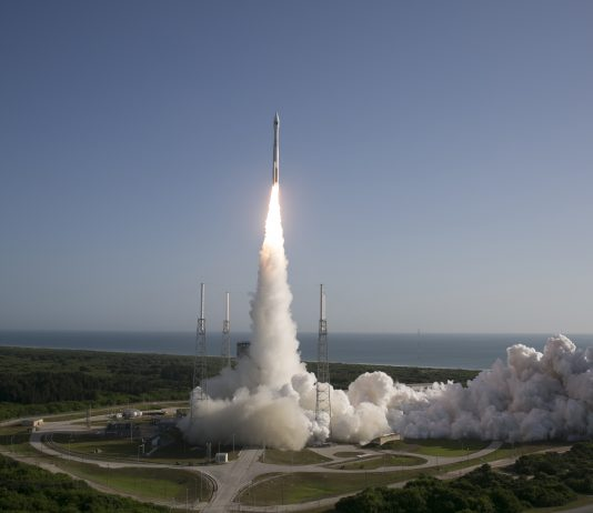 United Launch Alliance Atlas V rocket carrying NROL-61 satellite