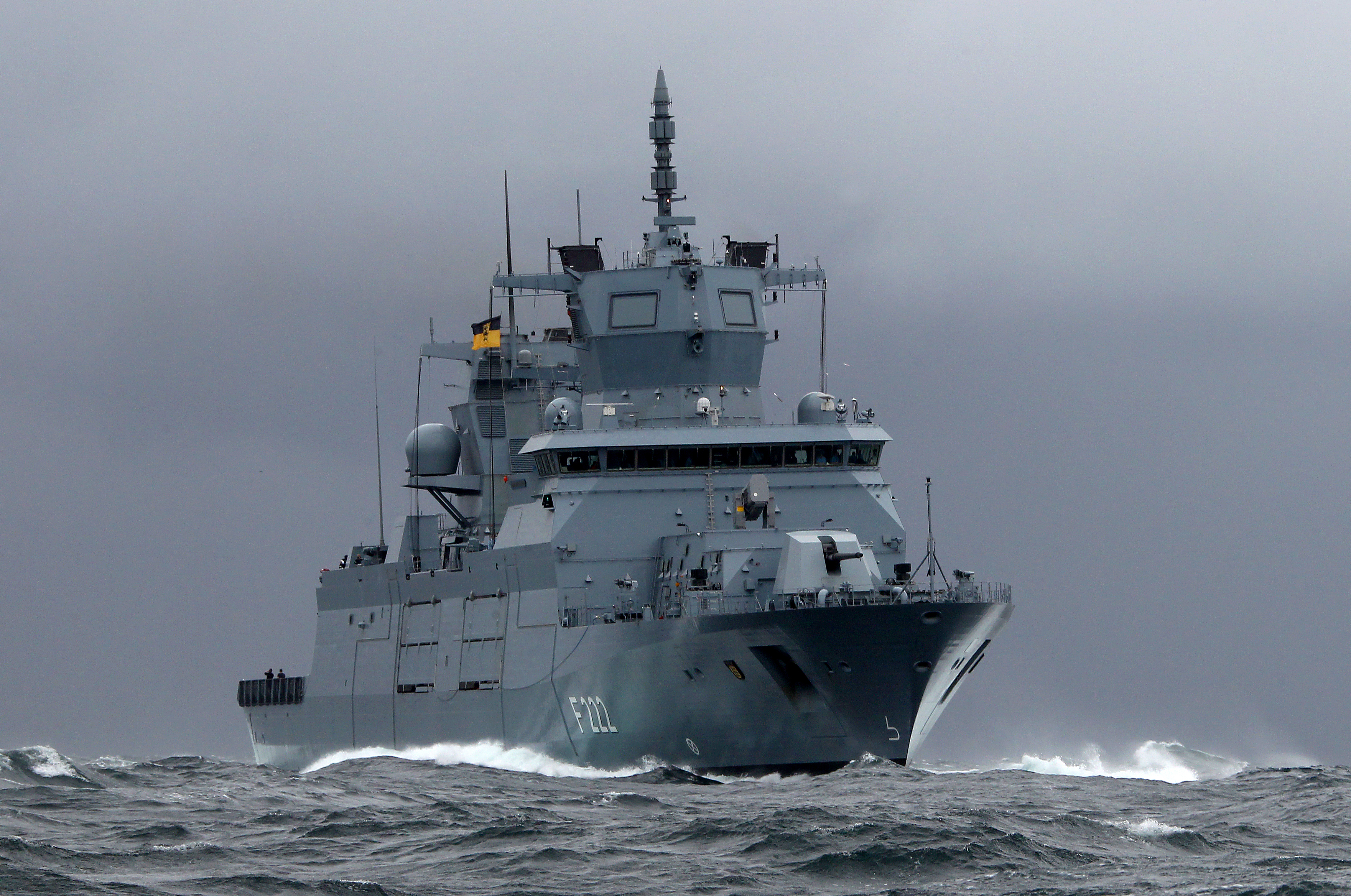 the German Navy's new 'Baden-Wüttemberg' class frigates