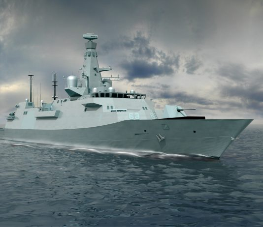 The Royal Navy will receive the 'Type 26' class