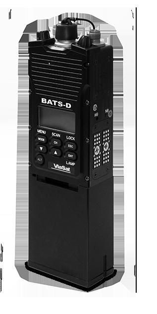 ViaSat's AN/PRC-161 BAT-D handheld radio
