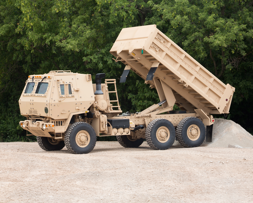 armouring of tactical trucks