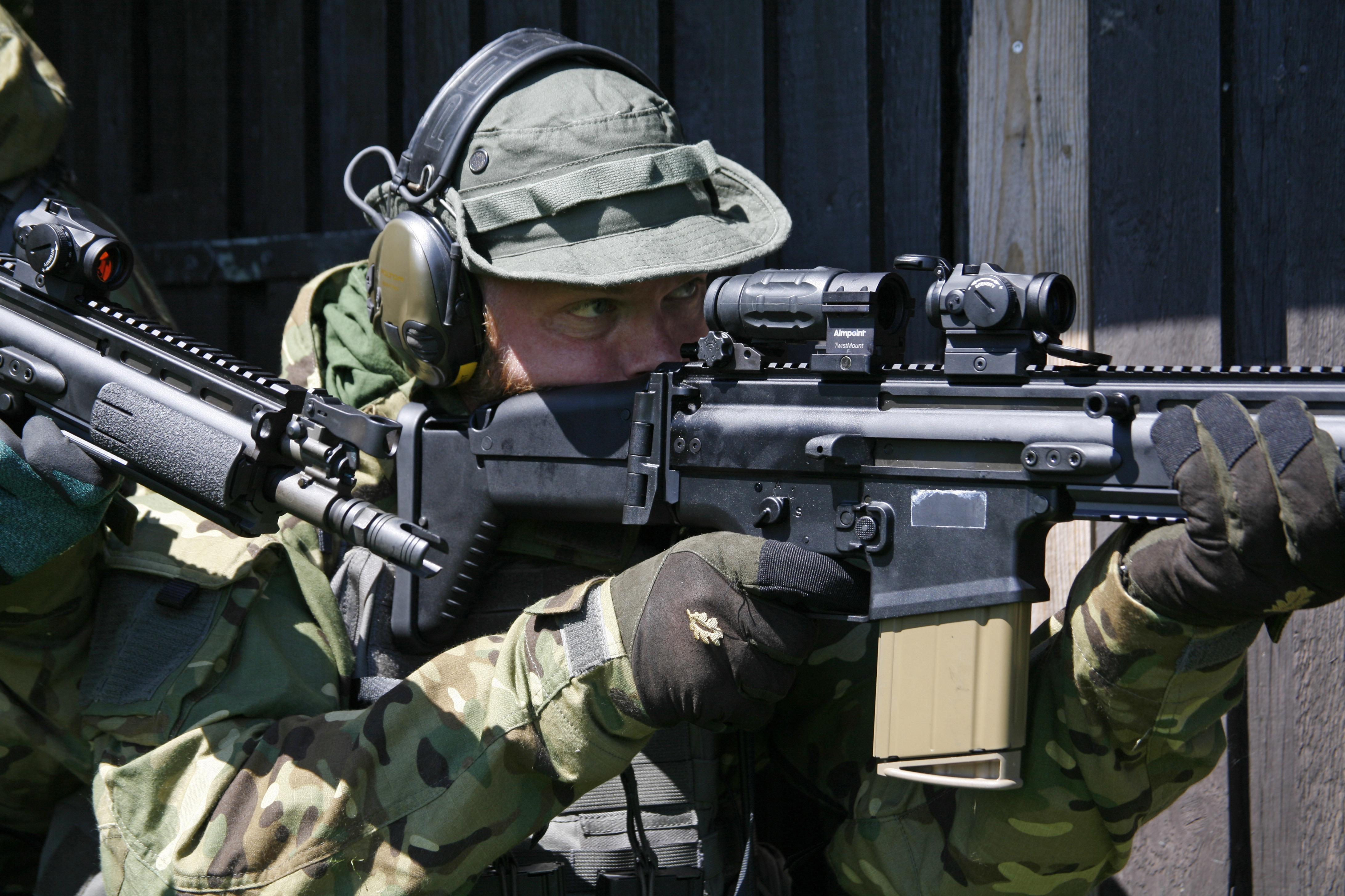 The FN Herstal SCAR-H
