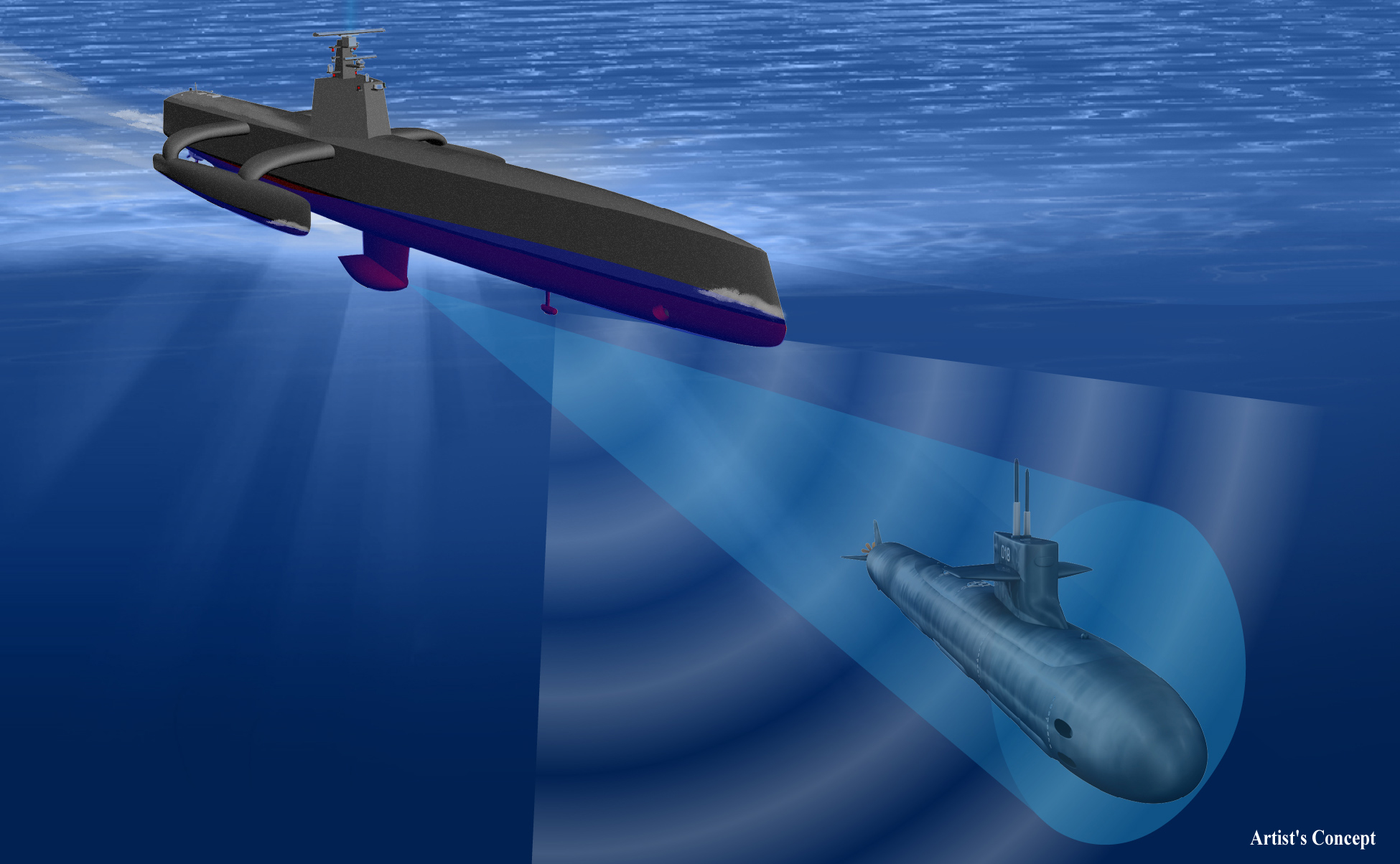 The DARPA Anti-Submarine Warfare