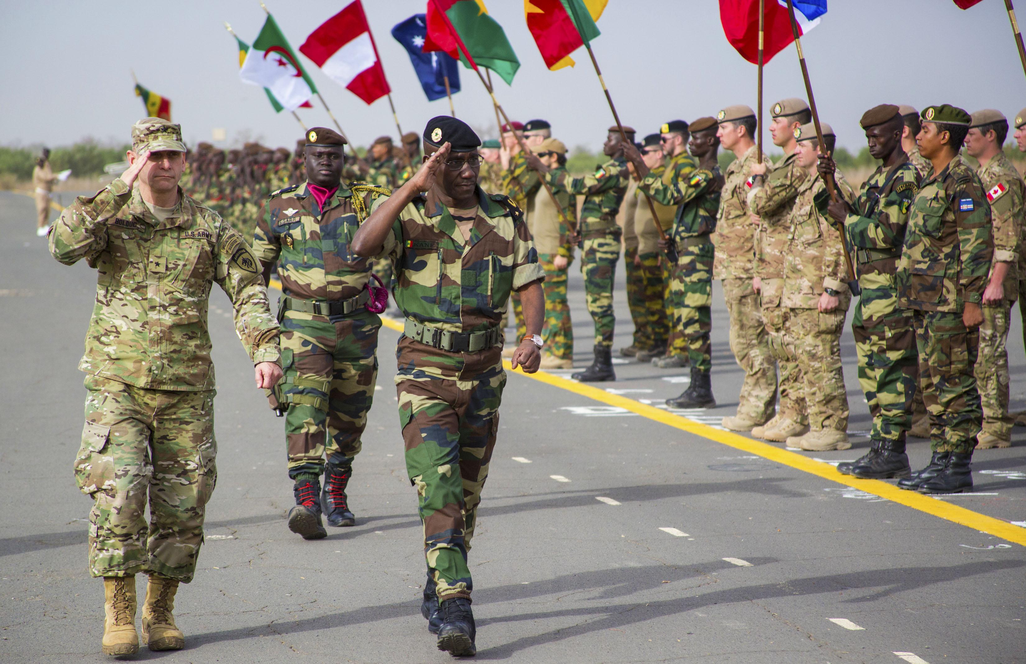 Exercise FLINTLOCK in Senegal