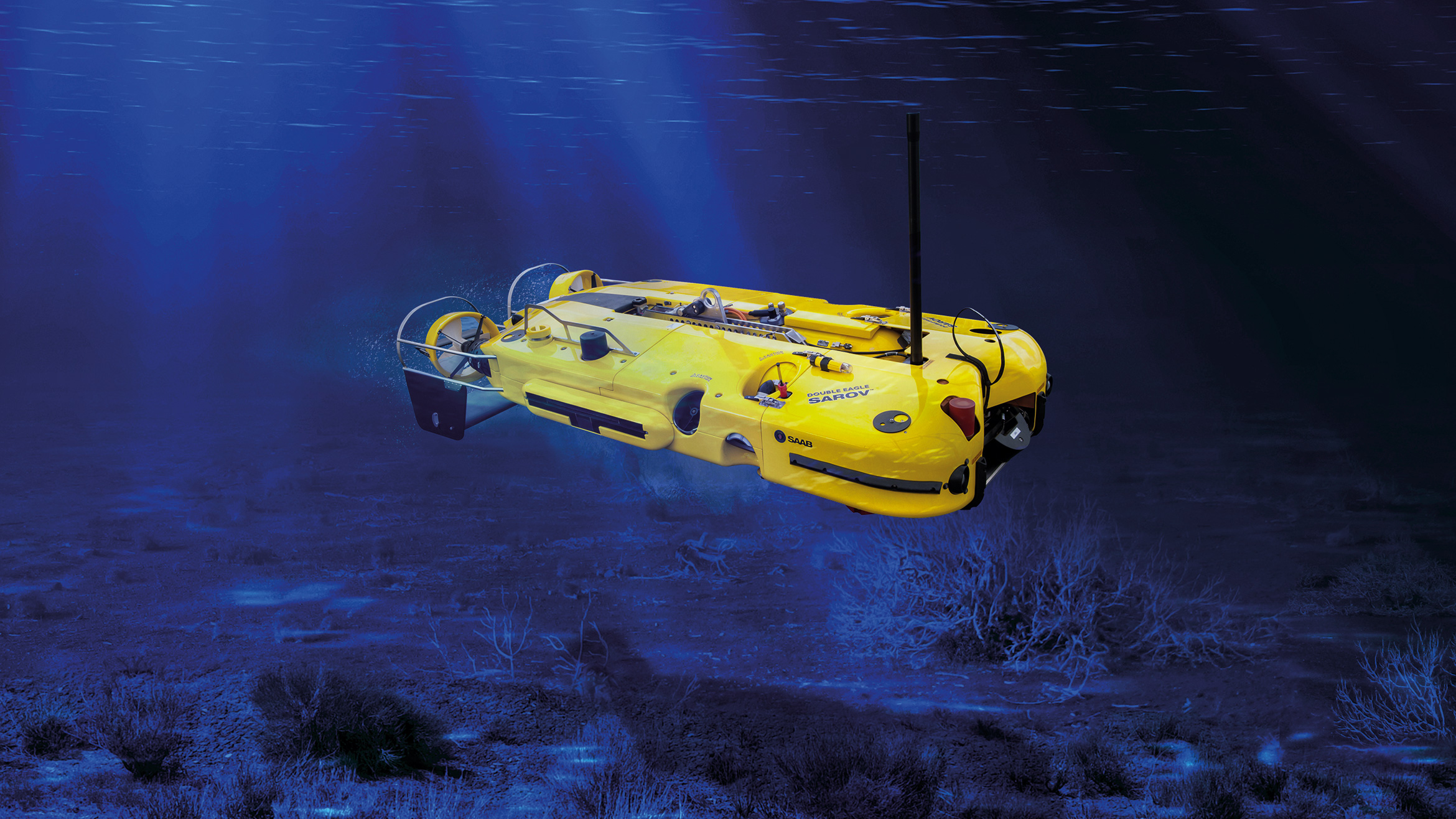 The Sonardyne Solstice side-scan sonar