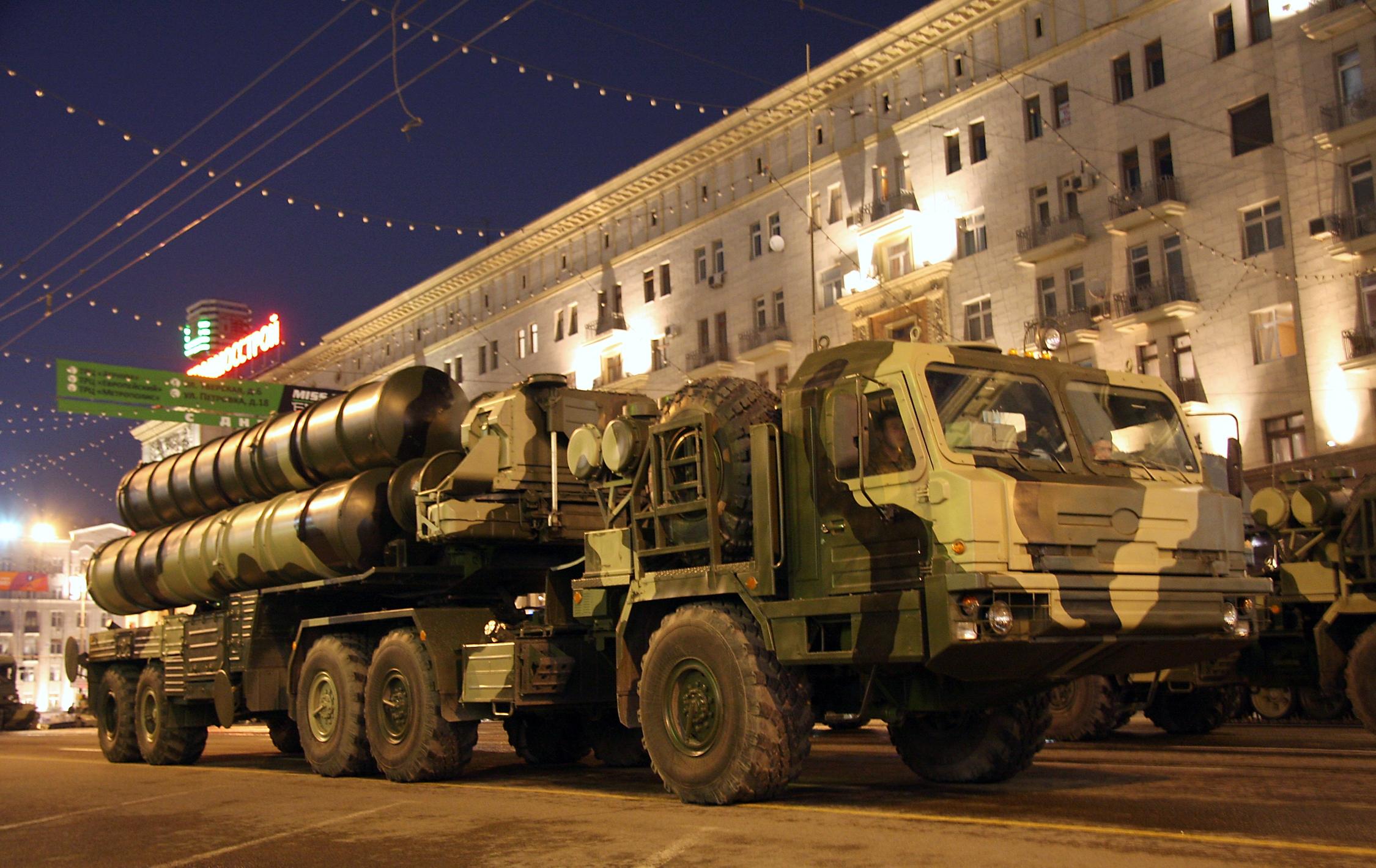 Russia's S-400 Trium