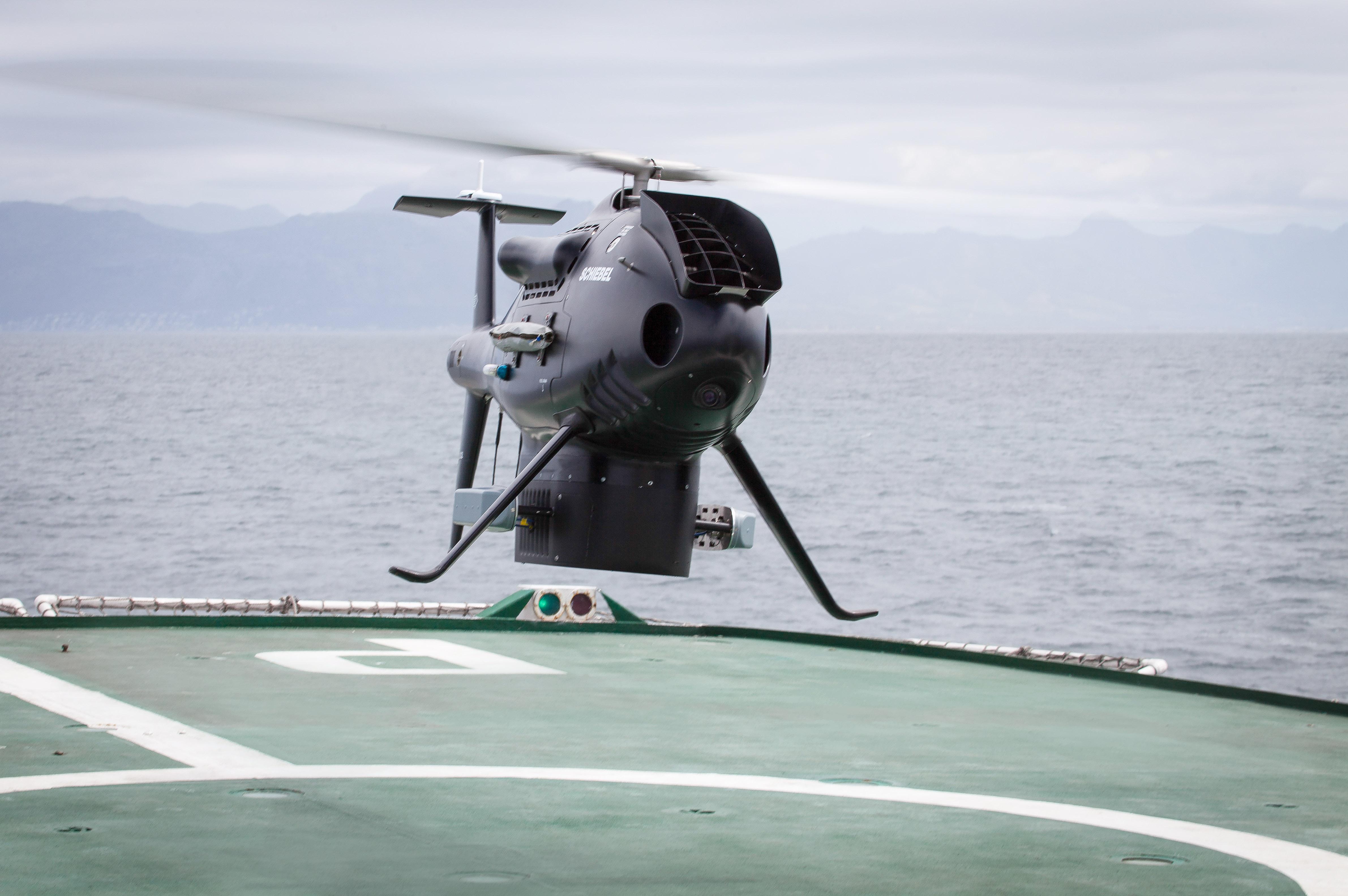 Schiebel's Camcopter S-100 UAV