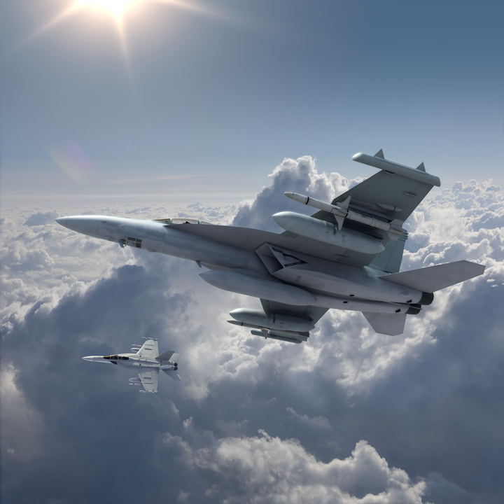 EA-18G Growler electronic warfare aircraft