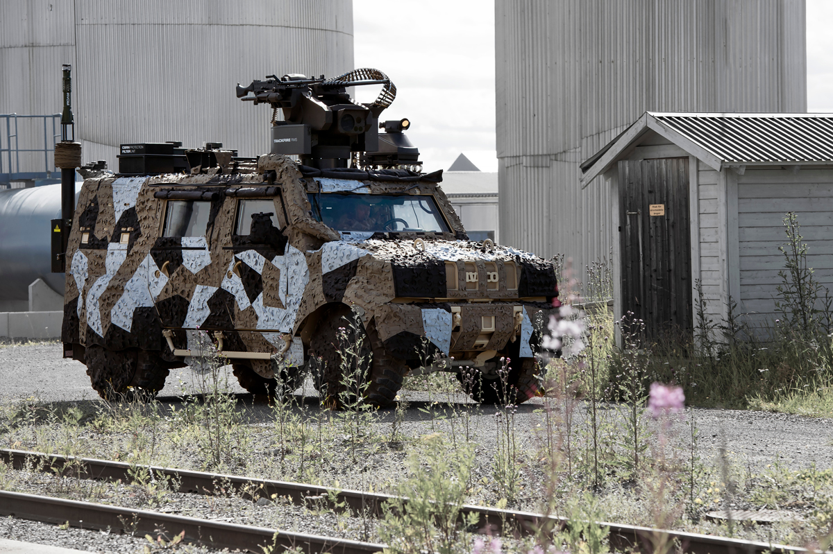 Specialist camouflage systems