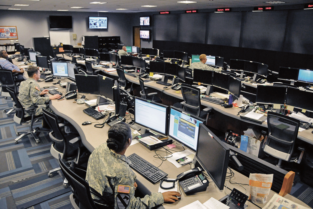 US Army's Fort Gordon's Cyber Operations Centre