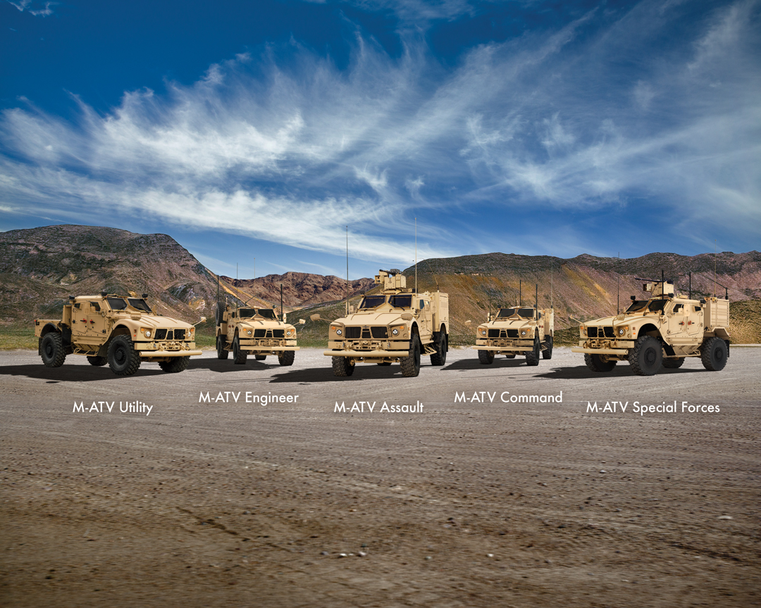 Oshkosh's M-ATV family