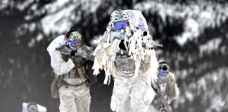 Arctic warfare capabilities