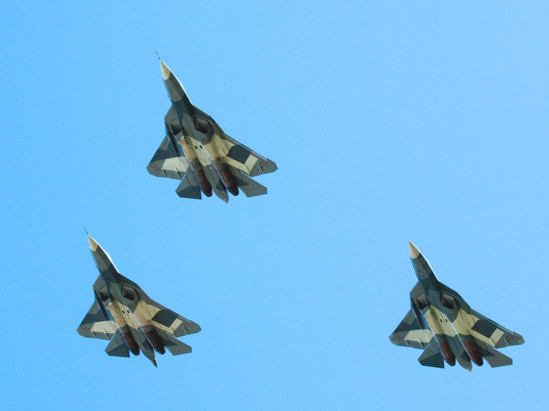 trio of T-50s
