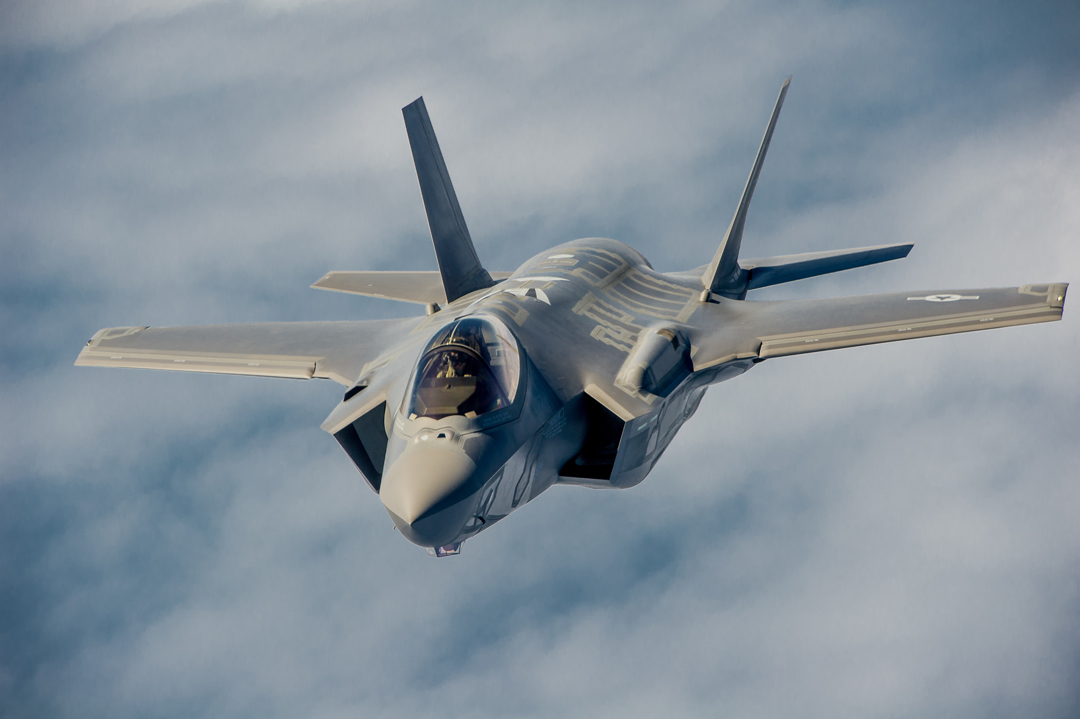 F-35A fighters