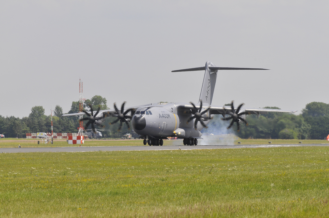 Airbus A400M strategic turboprop freighter programme