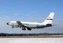 RAF RC-135W aircraft