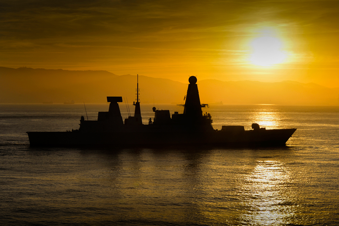 Royal Navy's 'Darling' class destroyers