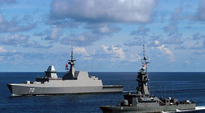 'Formidable' class frigate