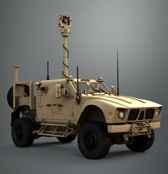 Northrop Grumman's Venom UAV air defence system