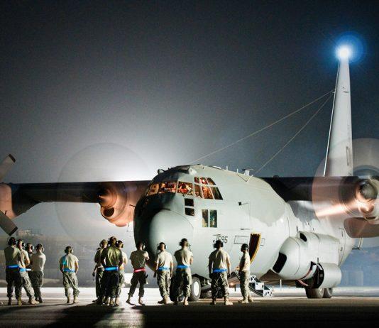 USAF EC-130H aircraft