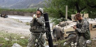 Elbit Soltam smoothbore 120mm mortar