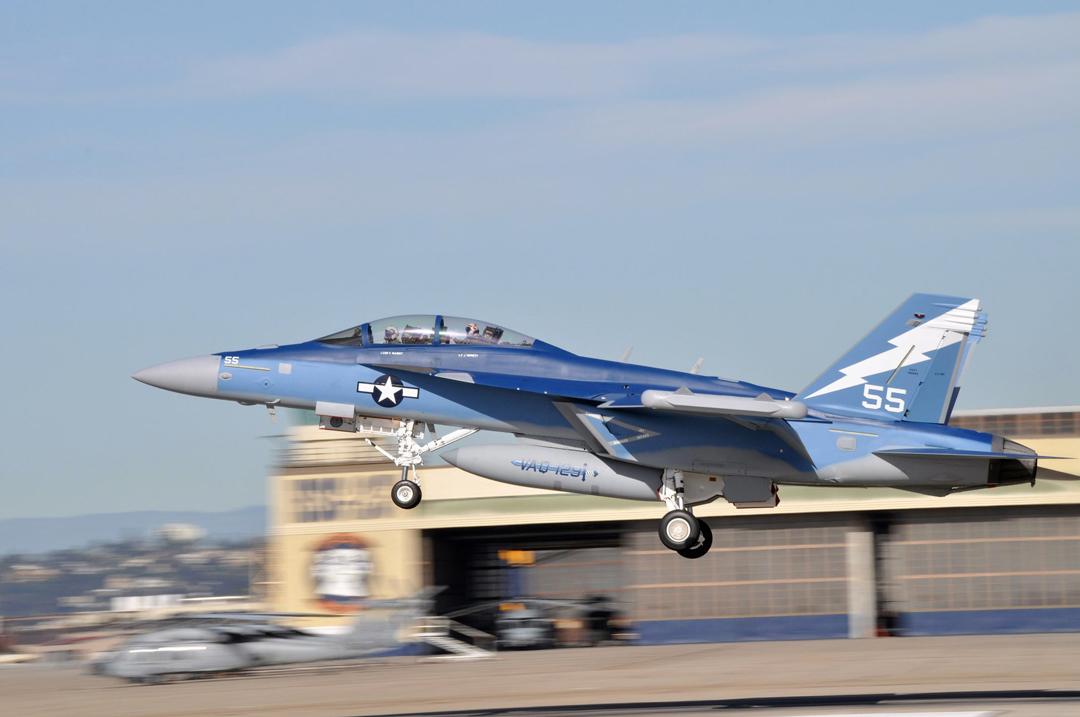 US Navy's EA-18G aircraft