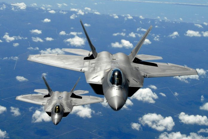 USAF's F-22A fighters