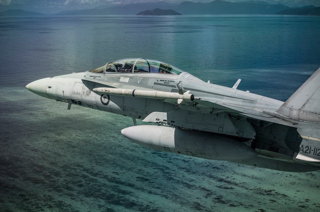 McDonnell Douglas/Boeing F/A-18B