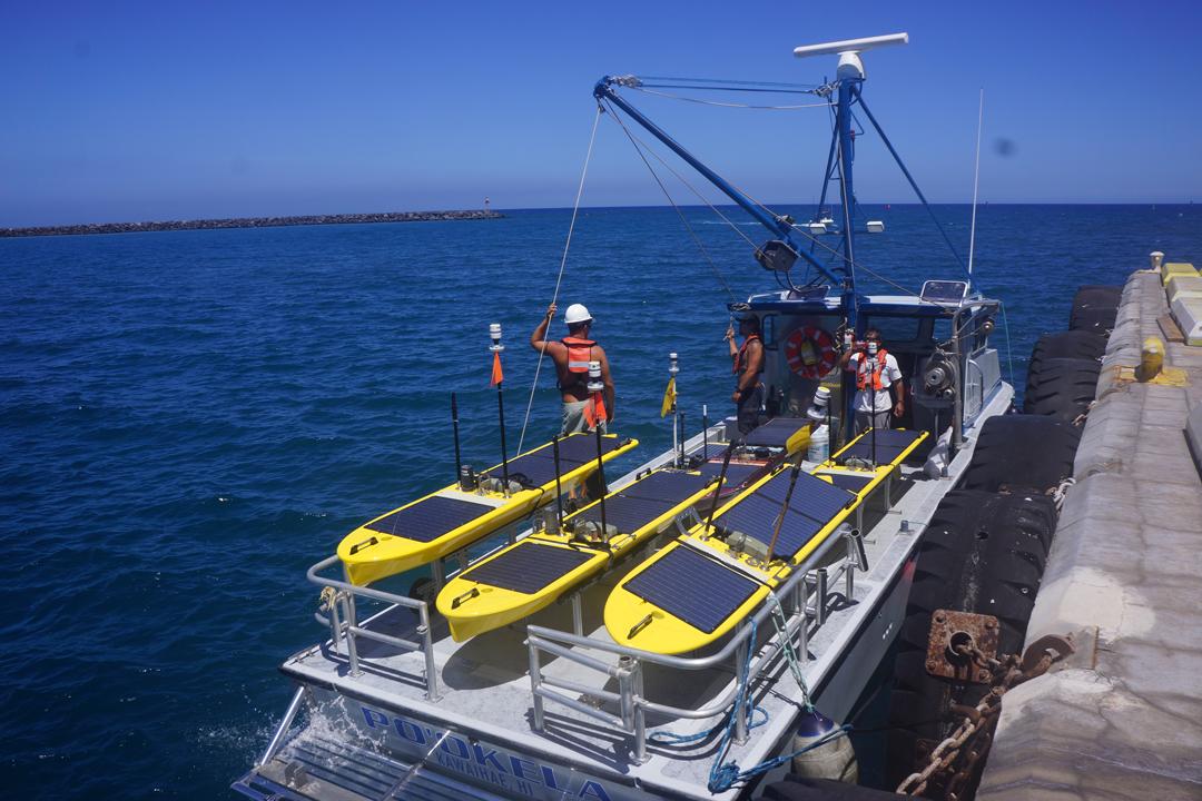 Liquid Robotics' Wave Gliders