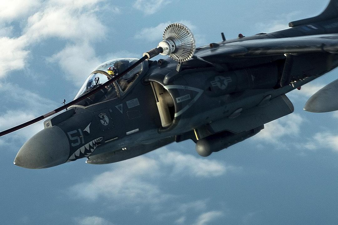 US Marine Corps AV-8B Harrier-II