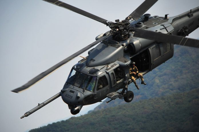 The USAF's HH-60G Pave Hawk CSAR helicopter