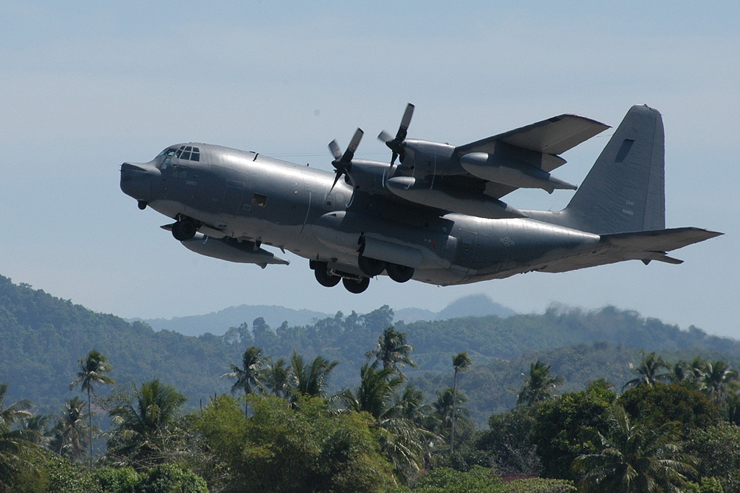The USAF's MC-130P aircraft