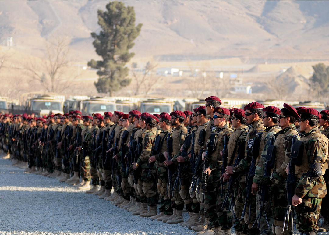 The Afghan National Army