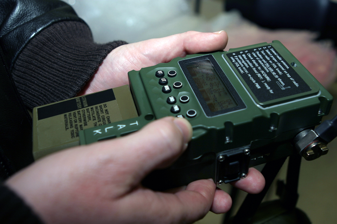 General Dynamics' AN/PRC-112G combat survival radio