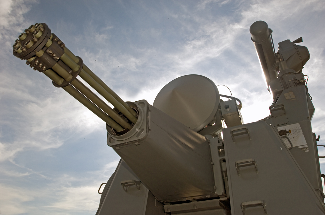 Thales' 30mm Goalkeeper CIWS