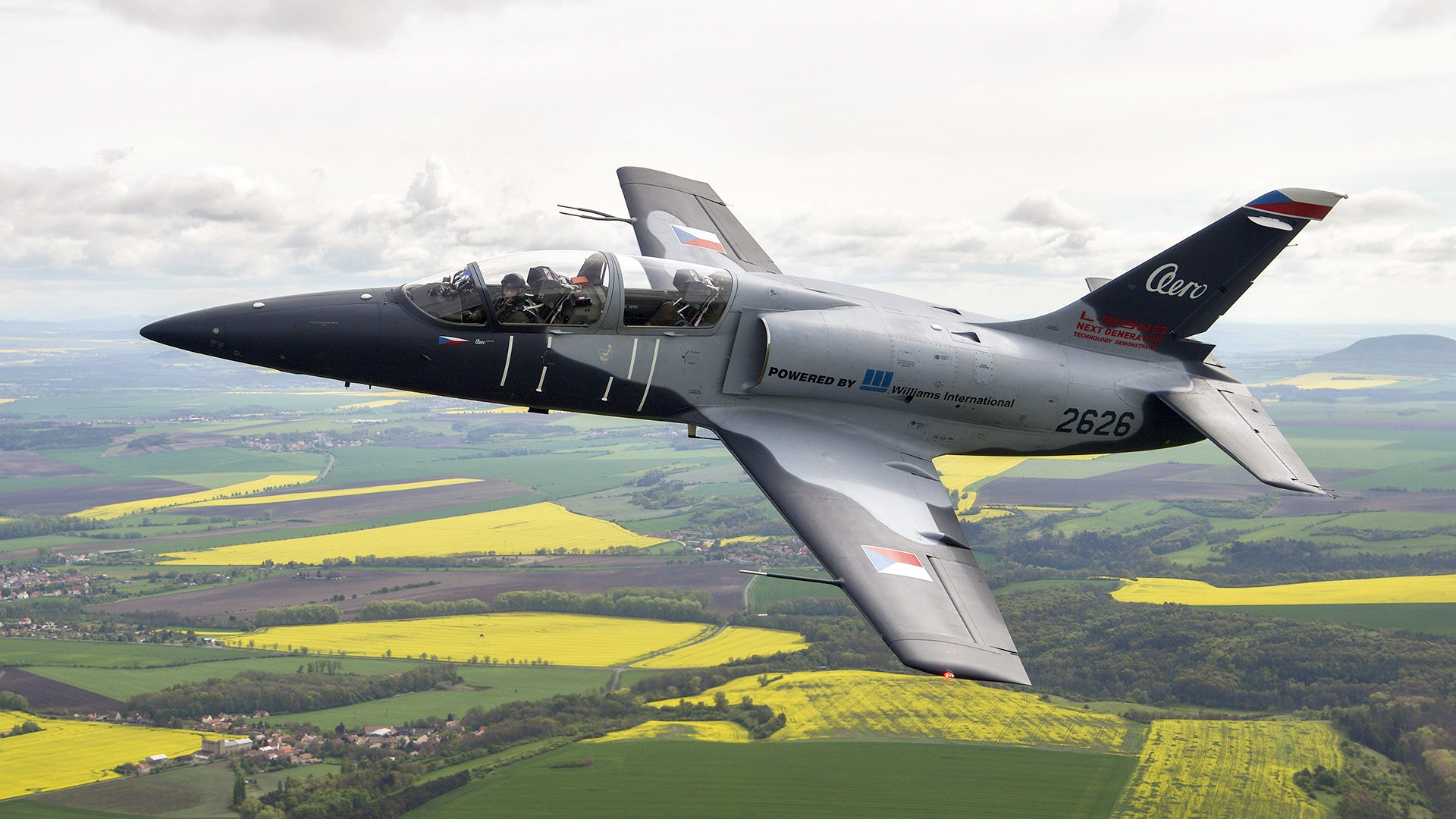 The new Czech jet aircraft L-39NG rolled out - Armada International