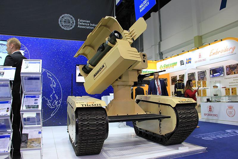 MBDA and Milrem Robotics unveil the world's first anti-tank