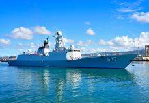 Jiangkai II frigate Linyi