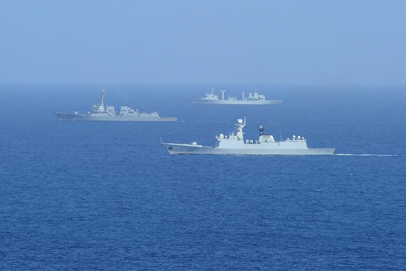 Jiangkai frigate Yuncheng