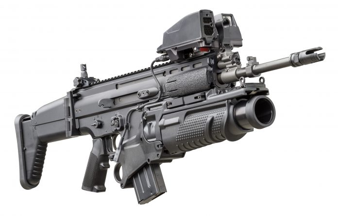FN SCAR® family on display at EUROPOLTECH - Armada International